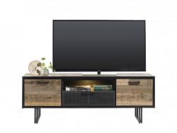 lowboard avalon hout metaal wonen meubels deruijtermeubel hendersenhazel cruquius