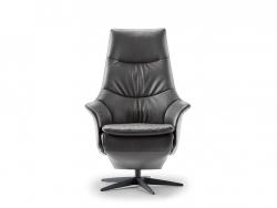 relaxfauteuil dutchz 2200 10370737 leder stof medium design deruijtermeubel