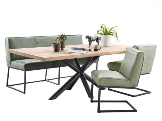 tafel tomino deruijtermeubel hout inspiratie metaal