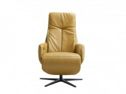 fauteuil Rizano leder relax elektrisch inhouse deruijtermeubel cruquius