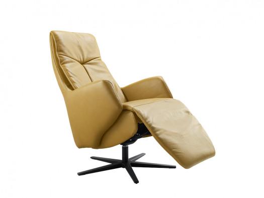 fauteuil Rizano leder relax elektrisch inhouse deruijtermeubel ligstand
