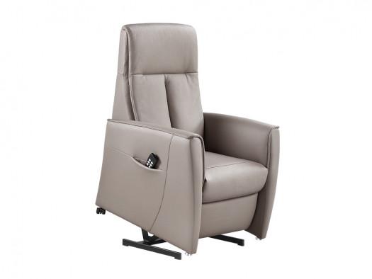 opsta hulp fauteuil ramilo khaki deruijtermeubel leder cruquius boulevard